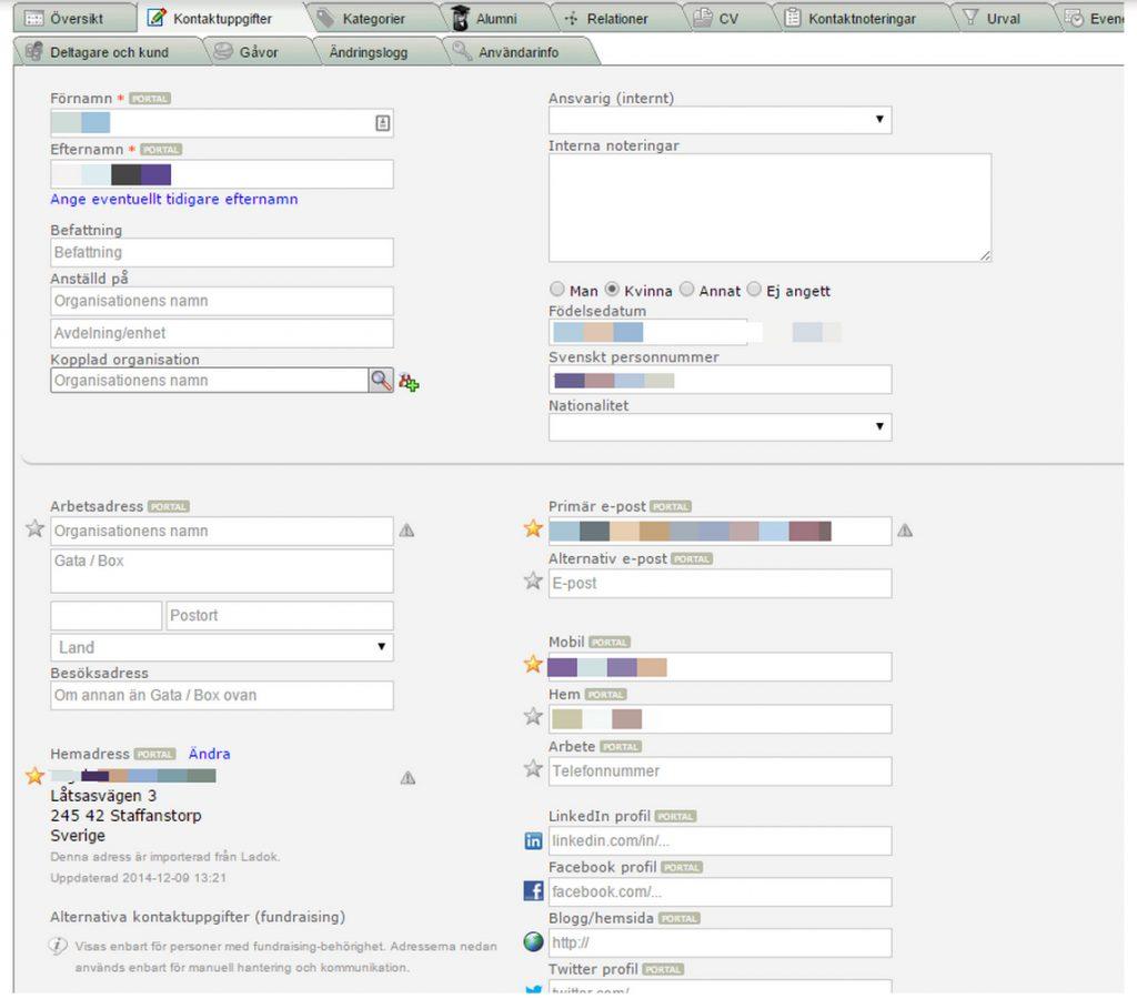 Automatisk uppdatering av adresser från Ladok varje natt – Miras Ladok Integration