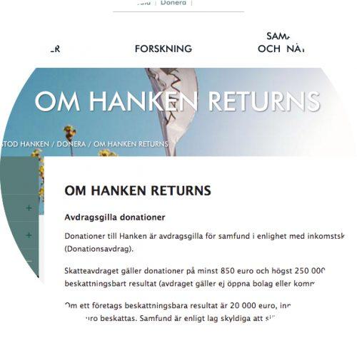 Hanken Returns